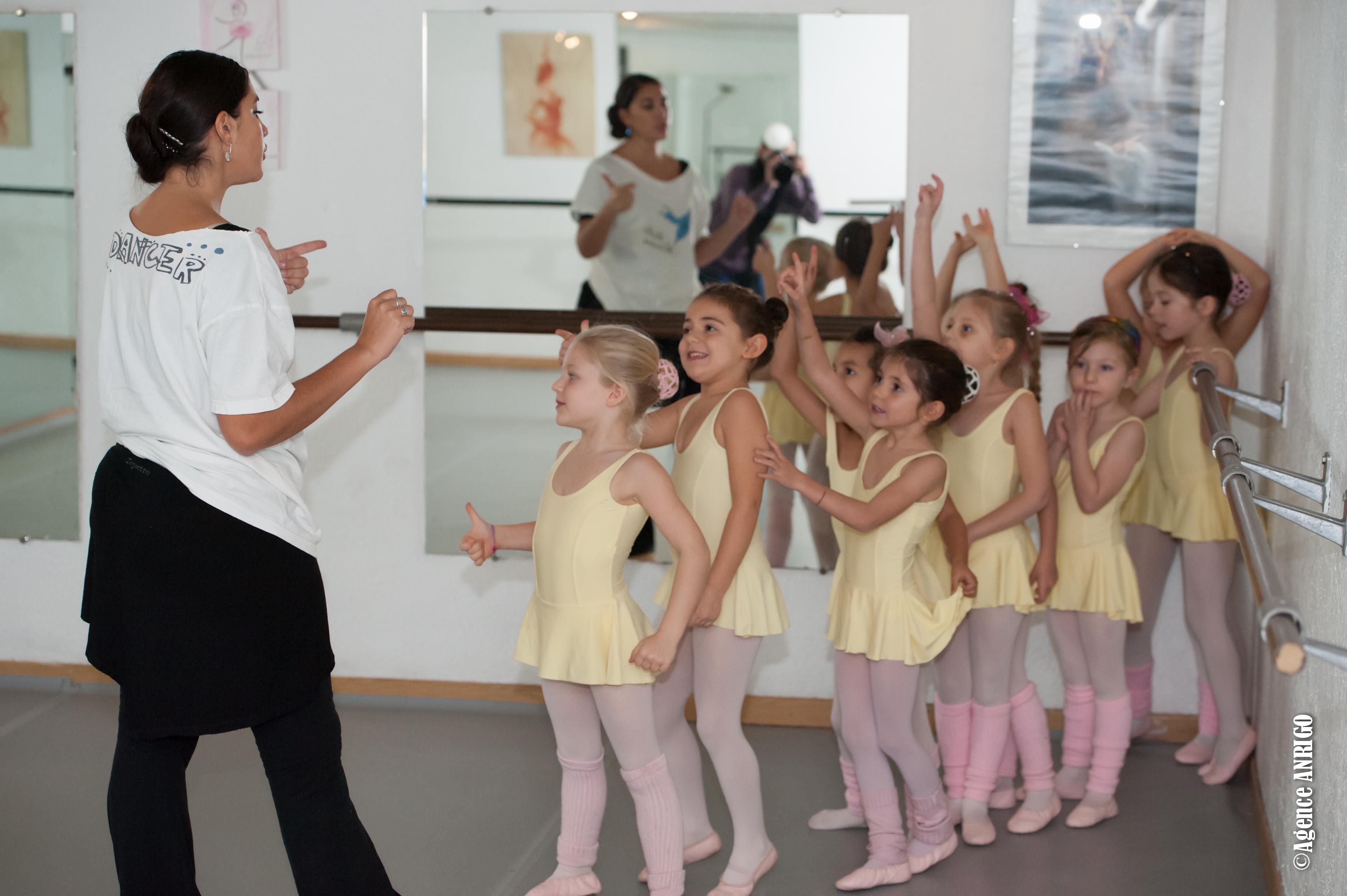 professeur de danse classique