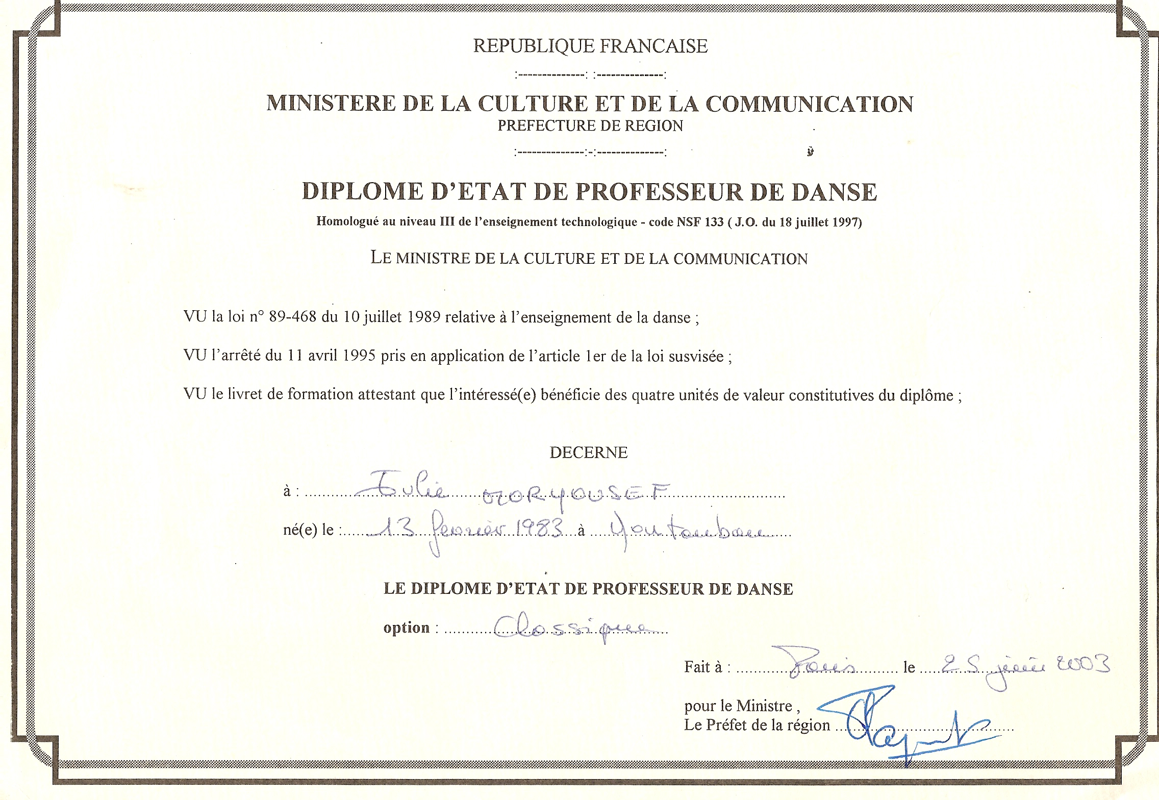curriculum vitae en francais pour enseignant